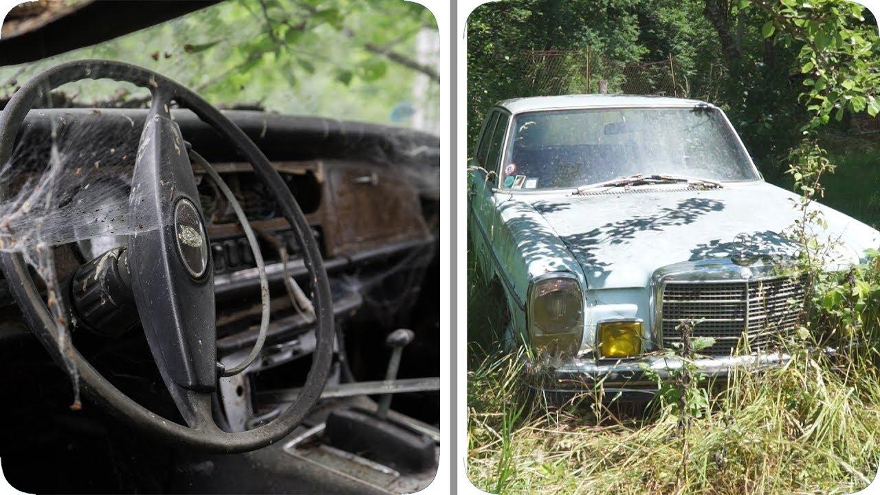 Location de voiture de luxe et de prestige : On visite un cimetière de voitures URBEX - YouTube