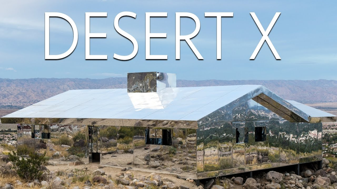Desert X: Exploring the Mirror House & 11 Other Exhibits in the Coachella Valley