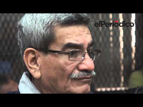 Suerte de Ríos Montt y Rodríguez se conocerá el lunes a las 11