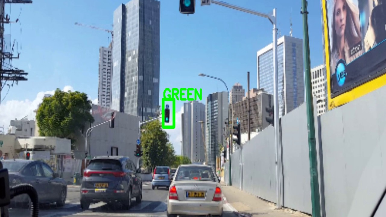 A deep learning traffic light detector using dlib and a few images