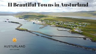 Beautiful Towns of Austurland, East Iceland