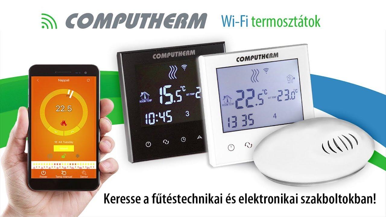Wifi termosztát bekötése