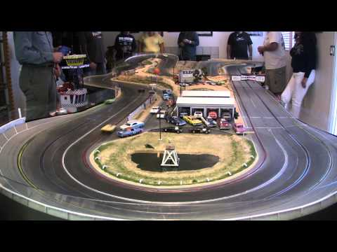 Fly Le Mans on Model Riverside Raceway 11-23-2014 Heat 4 [HD]