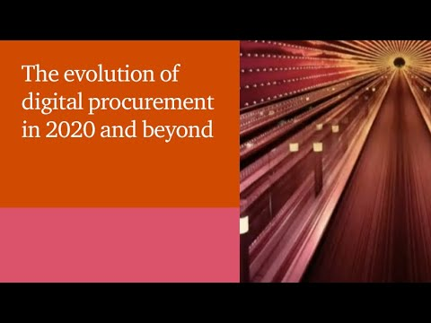 The evolution of digital procurement in 2020 and beyond