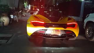 McLaren 720s สีเหลืองคันที่2มาอีกแล้ววว สวยสุดจะบรรยายจริงๆ