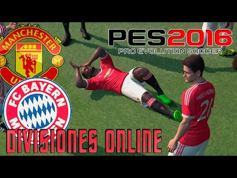 PES 2016   Mi Primer Partido Online - Manchester United vs Bayern Munich