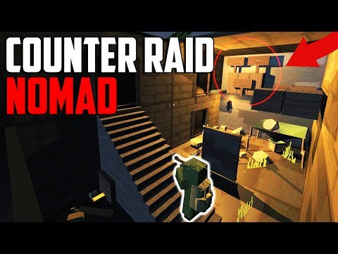 """NOMAD BASE RAIDS! """"DONT WASTE A C4!!"""" 😂 ( Early Access Survival Game )"""