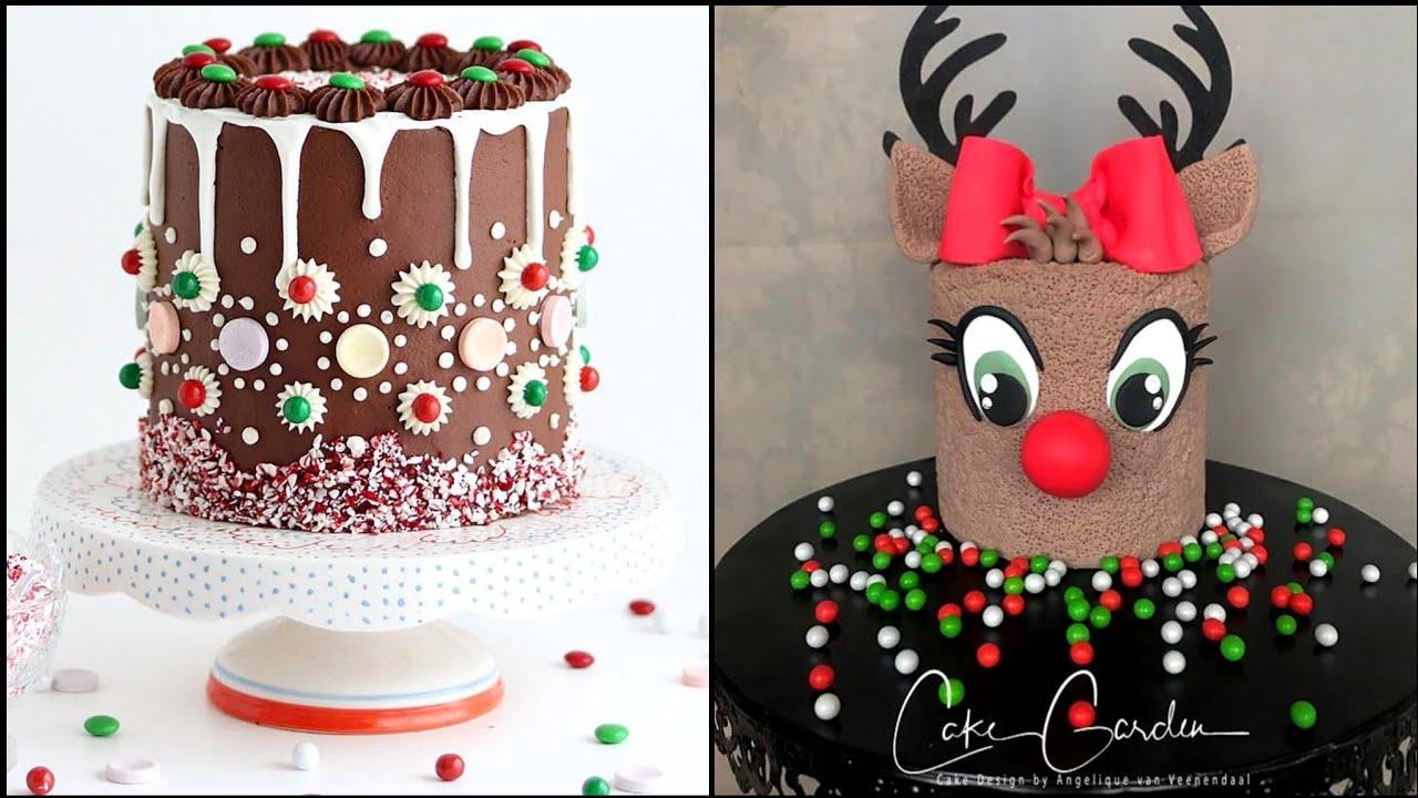 Night Before Christmas Eve Cake Decorating Baking Ideas 2020 Nightbefore Cake Designs Shorts Youtube