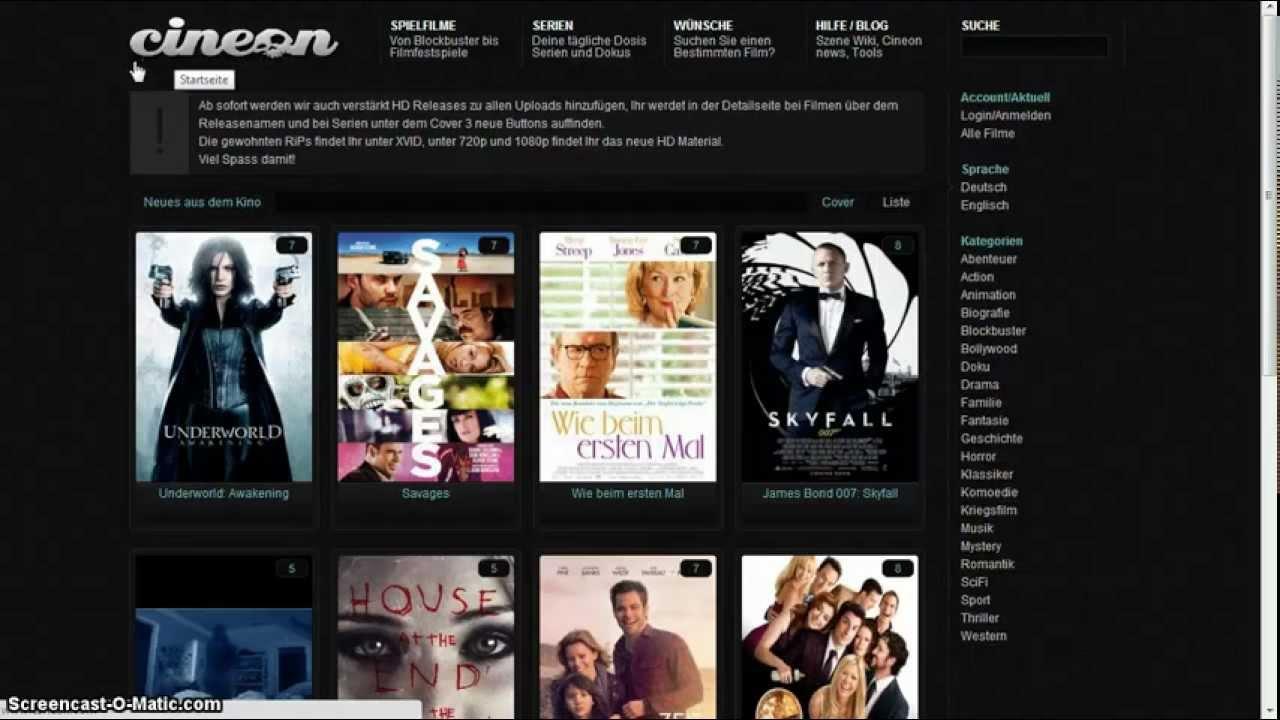 Gratis Kinofilme Streamen