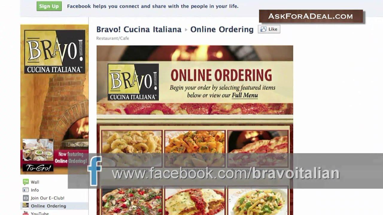 Bravo Restaurant Coupons