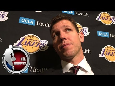 Luke Walton on Los Angeles Lakers