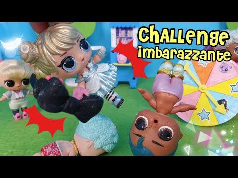 🤭💕 CHALLENGE DIVERTENTE: LE LOL SURPRISE SFIDANO L'IMBARAZZO 💕🤭 [ challenge per bambini ]