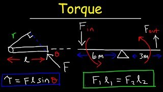 Video Torque, Basic Introduction, Lever Arm, Moment of Force, Simple Machines & Mechanical Advantage download MP3, 3GP, MP4, WEBM, AVI, FLV Agustus 2018
