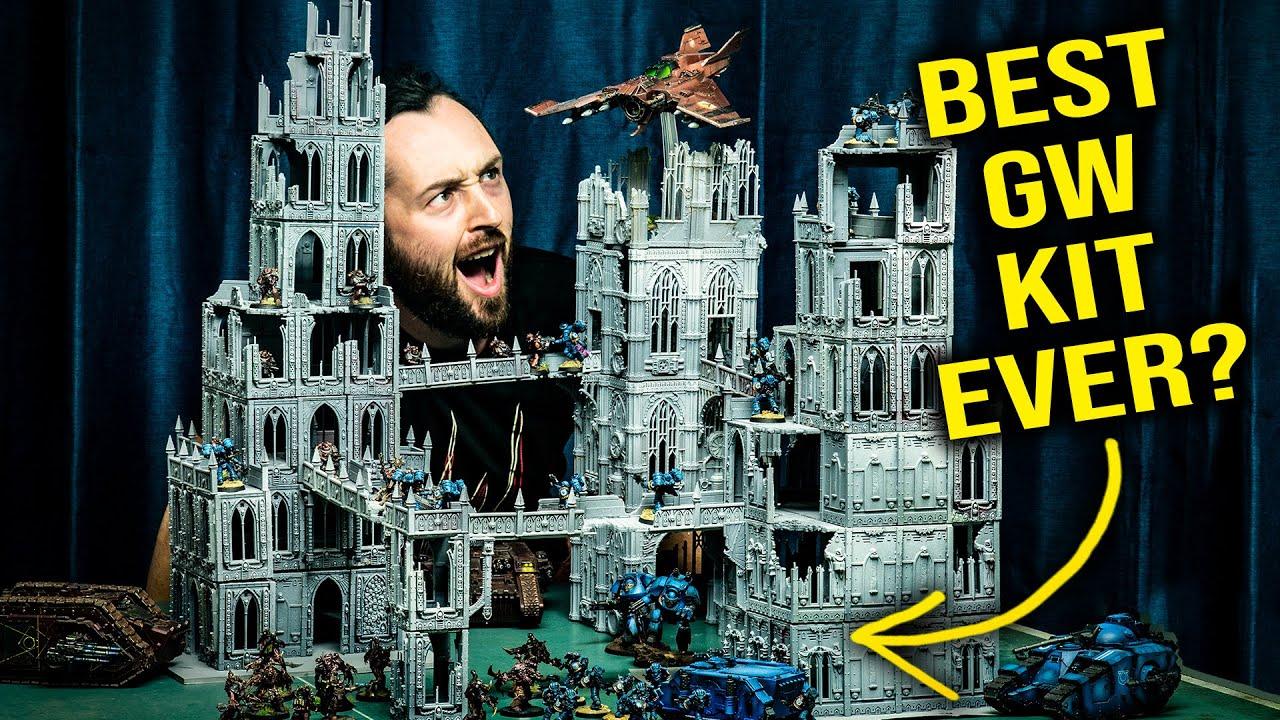 INSANELY MODULAR Hive City! | Kill Team, Warhammer 40k, Necromunda Gaming Board
