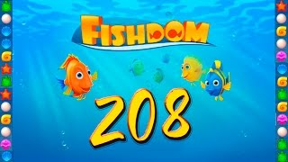 Fishdom: Deep Dive level 208 Walkthrough