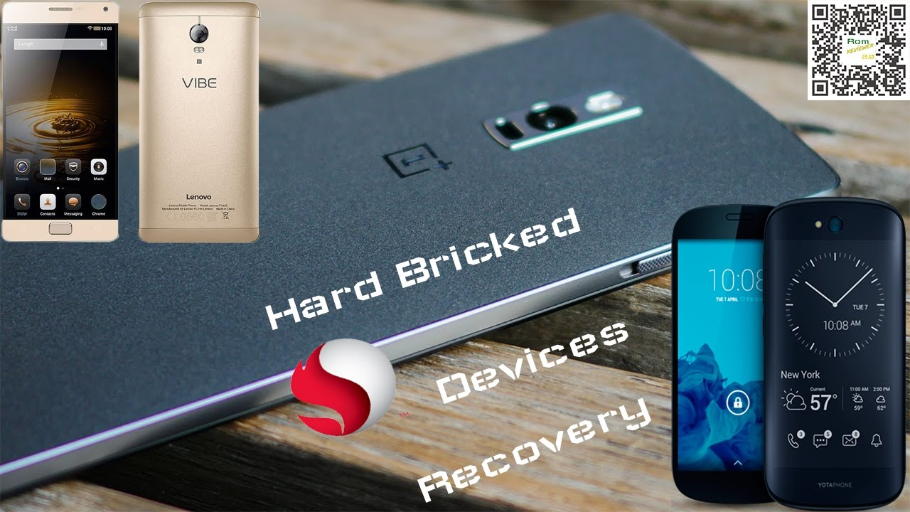 Recover Hard bricked snapdragon device with errors fixing solution