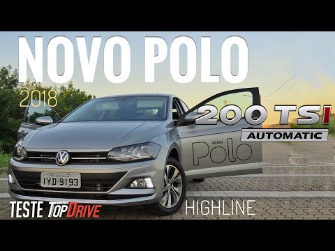Novo Polo Highline 2018 // Teste Canal Top Drive
