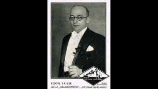 Egon Kaiser / Paul Dorn - Der Onkel Doktor hat gesagt (1938)