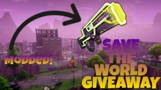 ¡Fortnite Save the World Modded Argon & Sunbeam Giveaway!