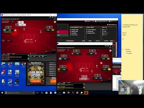 Poker - How to beat sngs sit n gos. good houlry $ ignition bovada 9man triple ups