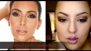 Kim Kardashian Inspired Makeup Thumbnail