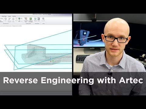 How to Reverse Engineer 3D Scan Data - Artec Studio to SpaceClaim Overview