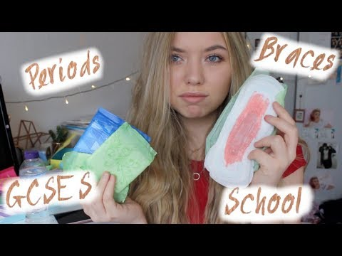 Everything You Need To Know About Periods, School & More!// Emmie Alice