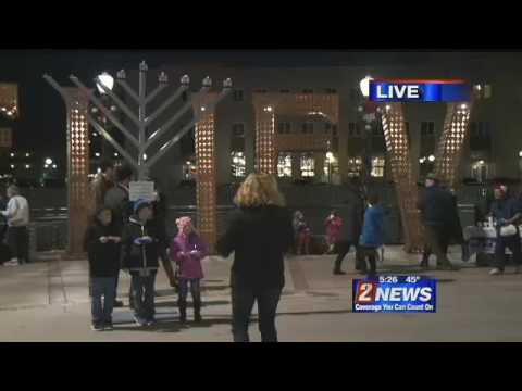 City of Reno Hosts Public Menorah Lighting