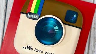 Instagram Rainbow Cake