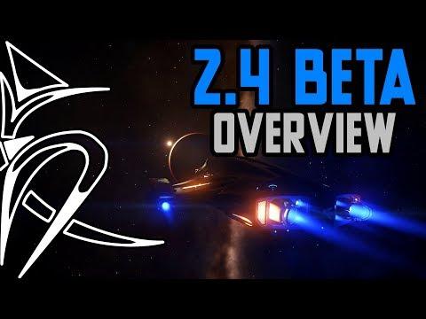 2.4 beta overview ASAP [Elite Dangerous]