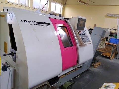 Tokarka CNC DMG GILDEMEISTER CTX 200 E