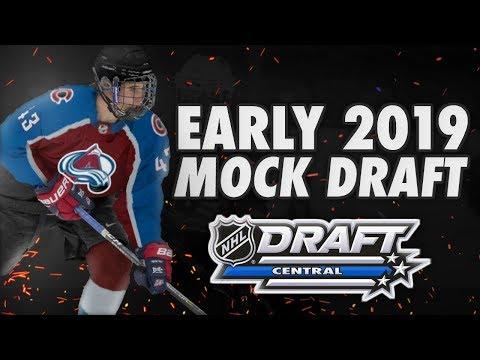 EARLY 2019 NHL MOCK DRAFT WITH KEITH FRIES ! (HUGHES , KAAKO , ...)