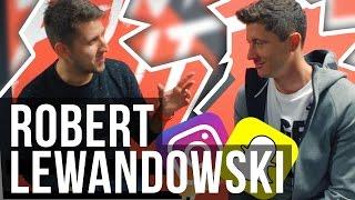 Robert LEWANDOWSKI o Snapchacie, Instagramie i mentalności