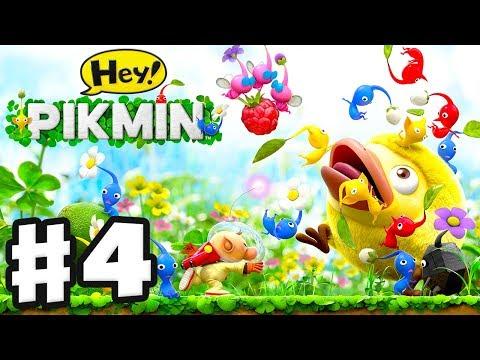 Hey! Pikmin - Gameplay Walkthrough Part 4 - Sector 4: Ravaged Rustworks! All Treasures! (3DS)