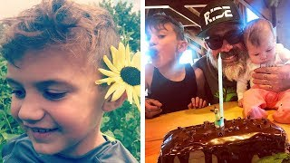 Jeffrey Dean Morgan & Hilarie Burton's Kids 2018 ►Augustus Morgan & George Virginia Morgan
