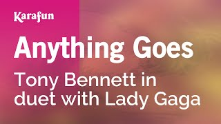 Karaoke Anything Goes - Tony Bennett *