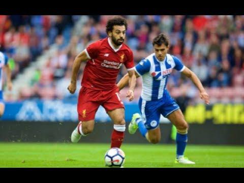 Download Mohamed Salah debut vs Wigan 14-7-2017 - ملخض لمسات محمد صلاح ضد ويغان