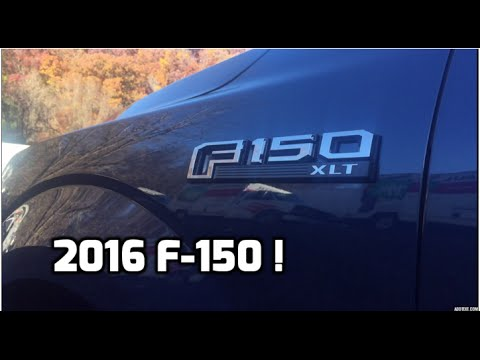 2016 Ford F150 XLT Review - Whats New ?