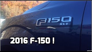 2016 Ford F150 XLT Review - Whats New ?(The 2016 Ford F150 XLT, whats new for this model year ? Ford has done some nice upgrades and refinements to the Nr.1 sold vehicle in the country., 2015-11-04T12:47:20.000Z)