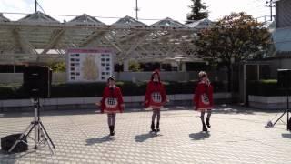 2012.09.08 弘前 りんご娘の広場ショー.
