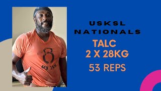 USKSL Nationals TALC 2X28kg, 2x24kg