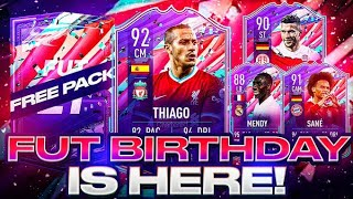 FUT BIRTHDAY IS HERE! 🎂 INSANE WF AND SM UPGRADES! FIFA 21 Ultimate Team