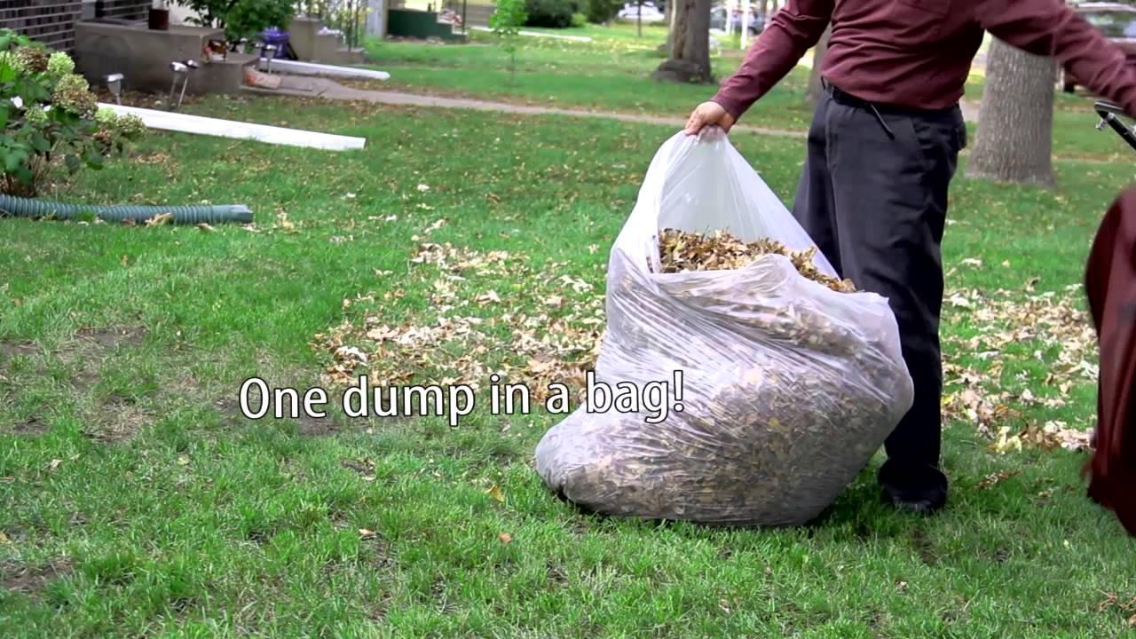 Transform Your Mower Into A Lawn Amp Leaf Vacuum Big Leaf