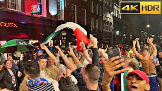 Euro 2020 Finals ⚽?? Italy Fans Celebrated after the match ? [4K HDR]