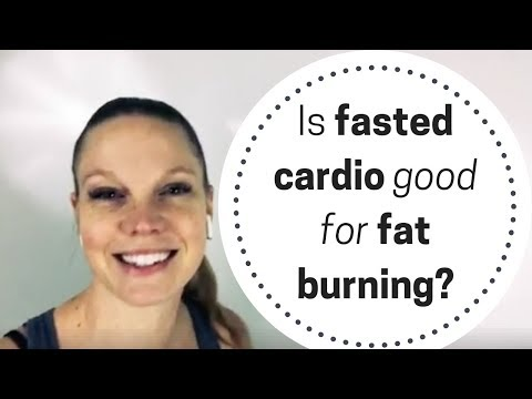 Is fasted cardio good for fat burning?