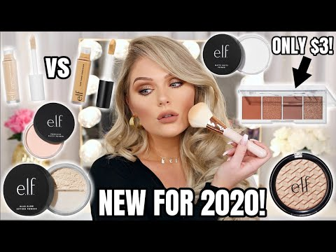 NEW ELF MAKEUP TESTED | FIRST IMPRESSIONS + WEAR TEST & COMPARISON