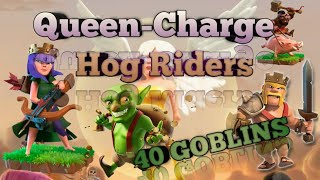 War Agency vs Aussie Militia | INSANE COMBO | QUEEN-WALK | 40 GOBLINS | HOGS | TH12 | CLASH OF CLANS