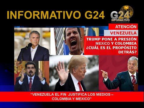 #VENEZUELA HOY EL FIN JUSTIFICA LOS MEDIOS - LAS PRESIONES DE TRUMP CONTRA EL NARCOTRAFICO