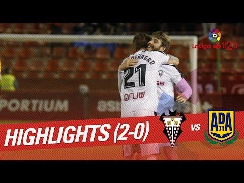 Resumen de Albacete Balompié vs AD Alcorcón (2-0)