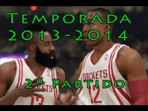 MAVERICKS VS ROCKETS  | NBA 2K14 - Partido 2